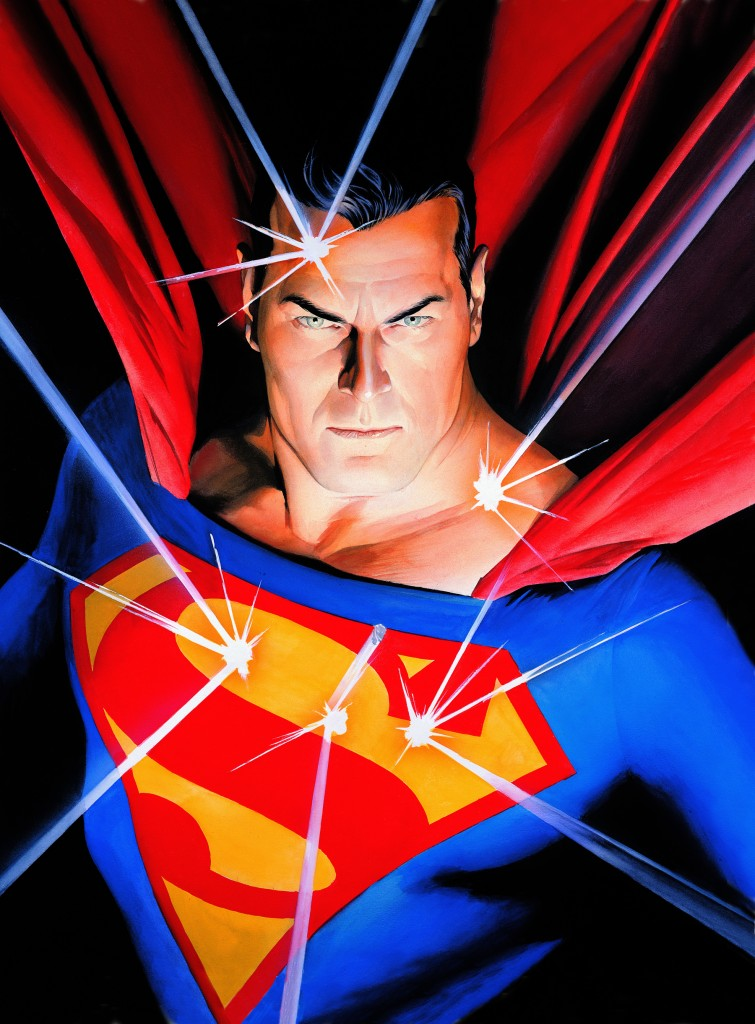 Alex Ross Mythology: Superman, 2005 Impression sur toile Collection d'Alex Ross ™& ©DC Comics Tous droits réservés