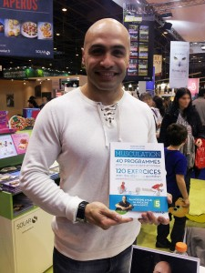Nordine Attab au Salon du Livre de Paris mars 2013 (photo : Adam et Ender)