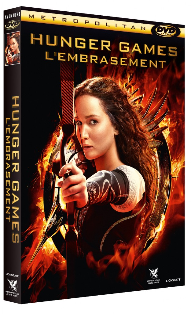 3D FOUR DVDV HUNGER GAMES 2