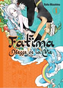 Jaquette Fatima deesse de la vie T01 PRESSE