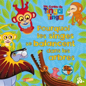 Les Contes de Tinga Tinga, Pourquoi les singes se balancent dans les arbres ?