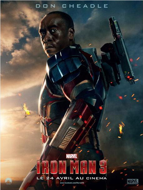 Don Cheadle est Iron Patriot