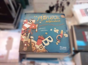 La Planète Alphabet, couverture